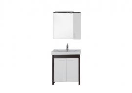 Мебель для ванной Aquanet Тиана 75 венге