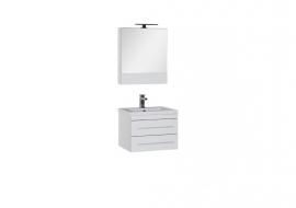 Мебель для ванной Aquanet Верона 58 подвесная белая