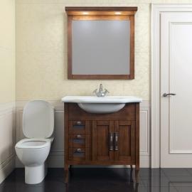 Мебель для ванной Opadiris Мираж 80 светлый орех