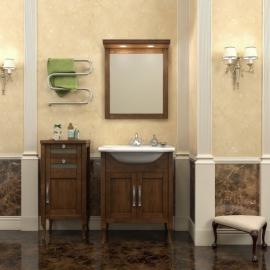 Мебель для ванной Opadiris Мираж 65 светлый орех