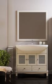 Мебель для ванной Opadiris Омега 90 слоновая кость