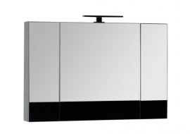 Зеркало Aquanet Верона 100 черное