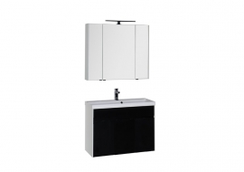 Мебель для ванной Aquanet Латина 100 черная
