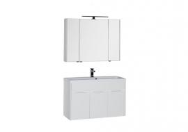 Мебель для ванной Aquanet Латина 100 белая