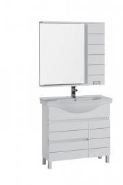Мебель для ванной Aquanet Доминика 90 белая