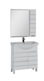 Мебель для ванной Aquanet Доминика 80 белая