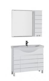 Мебель для ванной Aquanet Доминика 100 белая