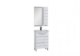 Мебель для ванной Aquanet Доминика 60 белая
