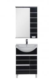 Мебель для ванной Aquanet Доминика 60 черная