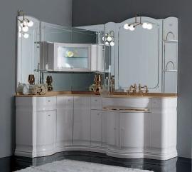 Мебель для ванной Eurodesign Hilton Композиция 3 белая