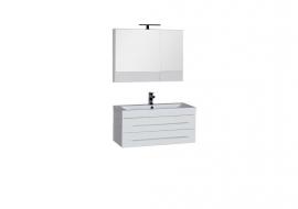 Мебель для ванной Aquanet Нота 90 камерино белая