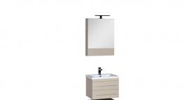 Мебель для ванной Aquanet Нота 58 камерино светлый дуб