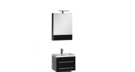 Мебель для ванной Aquanet Нота 58 камерино черная