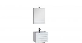 Мебель для ванной Aquanet Нота 58 камерино белая