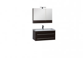 Мебель для ванной Aquanet Нота 90 камерино венге