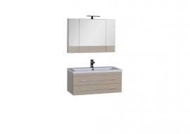 Мебель для ванной Aquanet Нота 100 Камерино светлый дуб