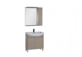 Мебель для ванной Aquanet Донна 80 светлый дуб