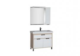 Мебель для ванной Aquanet Гретта 100 светлый дуб