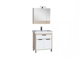 Мебель для ванной Aquanet Гретта 75 камерино светлый дуб