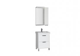 Мебель для ванной Aquanet Гретта 60 (2 ящика) белая