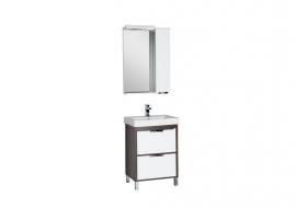 Мебель для ванной Aquanet Гретта 60 (2 ящика) венге