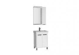 Мебель для ванной Aquanet Гретта 60 (2 двери) белая