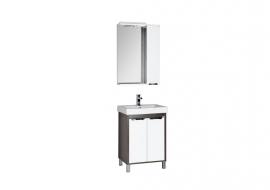 Мебель для ванной Aquanet Гретта 60 (2 двери) венге