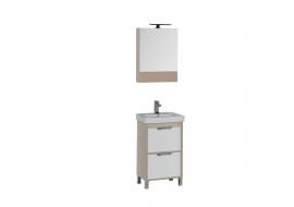 Мебель для ванной Aquanet Гретта 50 светлый дуб