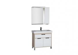 Мебель для ванной Aquanet Гретта 90 светлый дуб