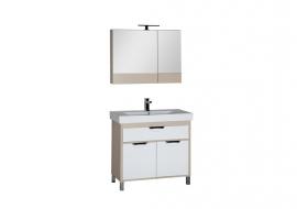 Мебель для ванной Aquanet Гретта 90 камерино светлый дуб