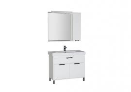 Мебель для ванной Aquanet Гретта 100 белая