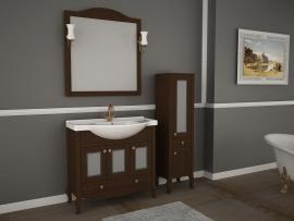 Мебель для ванной АСБ-Мебель Флоренция Витраж 105 бук тироль