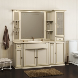 Мебель для ванной Opadiris Корсо Оро 7 слоновая кость