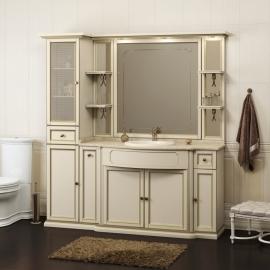 Мебель для ванной Opadiris Корсо Оро 6 слоновая кость