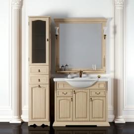 Мебель для ванной Opadiris Риспекто 95 слоновая кость
