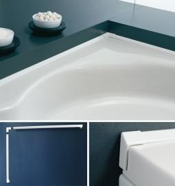 Торцевой плинтус для ванн и душевых поддонов Kolpa San