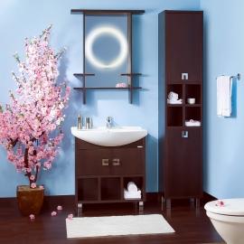 Мебель для ванной Bricklaer Хоккайдо 75 венге