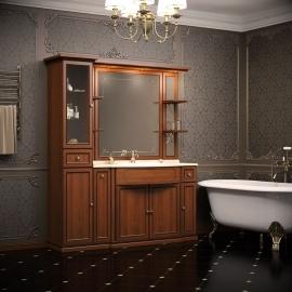 Мебель для ванной Opadiris Корсо Оро 6 светлый орех
