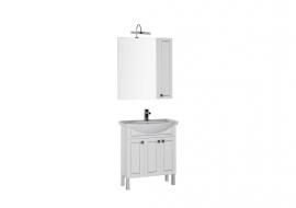Мебель для ванной Aquanet Честер 75 белая/серебро