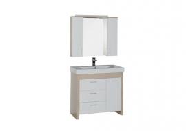 Мебель для ванной Aquanet Тиана 90 светлый дуб