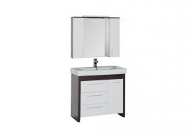 Мебель для ванной Aquanet Тиана 90 венге