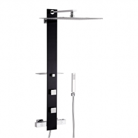 Душевая панель Valentin I-Deco Tower black