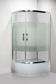 Душевой уголок Luxus Lang L013 100*80 R