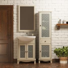 Мебель для ванной Opadiris Омега 55 слоновая кость