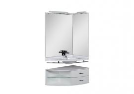 Мебель для ванной Aquanet Корнер 89 правый