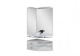 Мебель для ванной Aquanet Корнер 89  левый