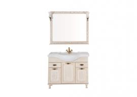 Мебель для ванной Aquanet Тесса 105 жасмин/золото