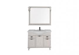 Мебель для ванной Aquanet Тесса 105 жасмин/серебро