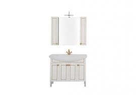 Мебель для ванной Aquanet Честер 105 белая/золото