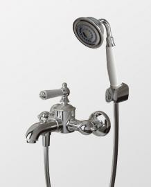 Смеситель для ванны с душем Bravat Art F675109C-B